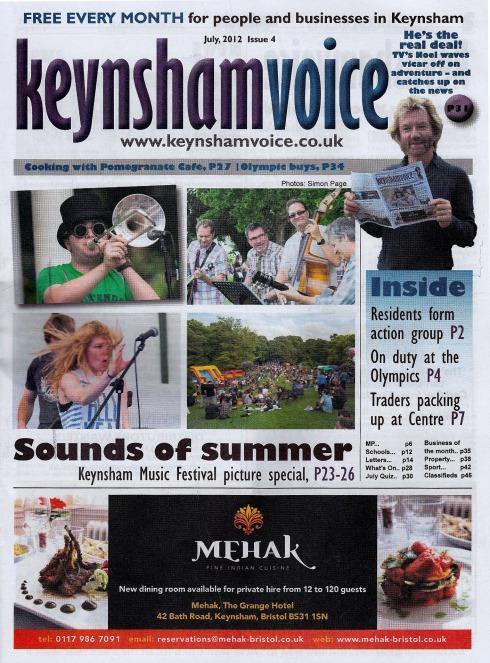 Slapface and the Hoagies in the Keynsham Voice